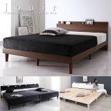 棚・コンセント付きすのこベッド【Jouir】ジュイール 価格訴求商品