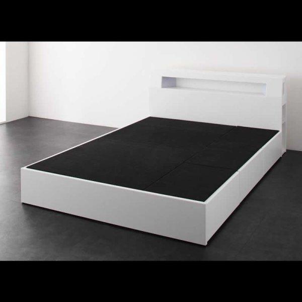 画像4: モダンライト・コンセント収納付きベッド【Cher】シェール