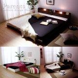 日本製:連結ベッド親子・夫婦で寝られるフロアベッド