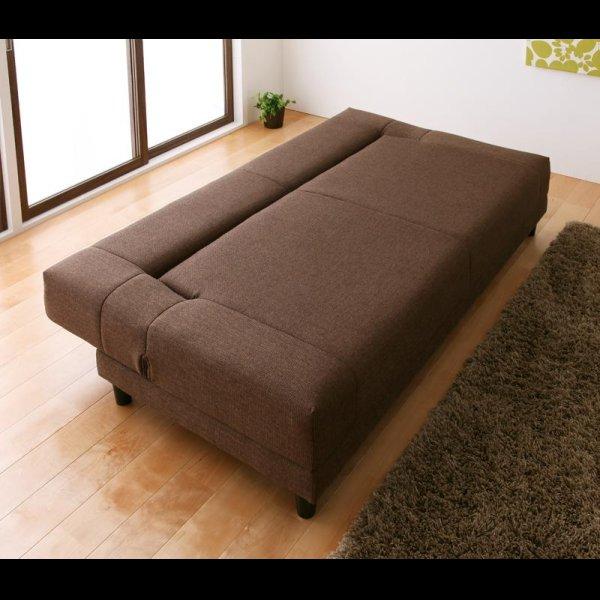 画像2: 寝心地抜群コイルスプリングソファーベッド