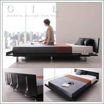クイーン・キングサイズ対応ベッド【Masterpiece】マスターピース【Gil】ギル