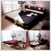 クイーンベッドサイズ対応連結ベッド