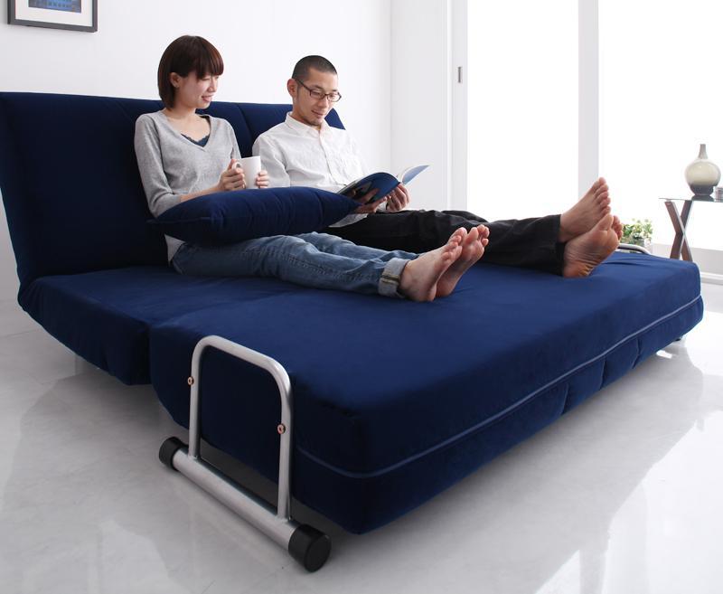 ソファ ダブルサイズ ソファーベッド : ... ダブルサイズを通販で安く買う