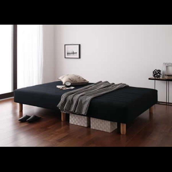 画像4: 色・寝心地・脚が選べる!20色カバーリングボンネルコイルマットレスベッド