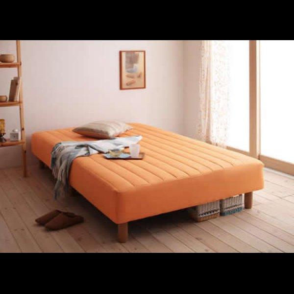 画像5: 色・寝心地・脚が選べる!20色カバーリングポケットコイルマットレスベッド