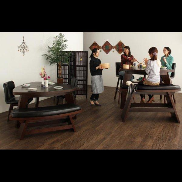 画像2: アジアンモダンデザインカウンターダイニングセット Bar.EN セット販売も