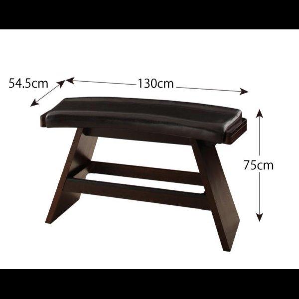 画像5: アジアンモダンデザインカウンターダイニングセット Bar.EN セット販売も