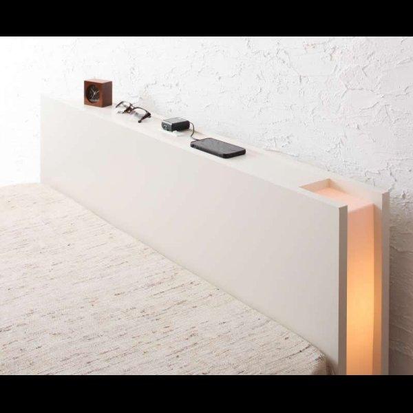 画像2: 組立設置サービス対応!ガス圧式収納ベッド【夕月】ユフヅキ