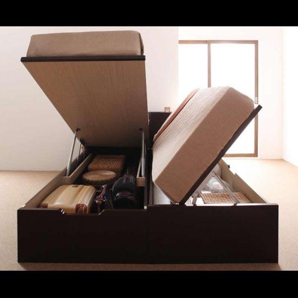 画像3: 組立設置サービス対応!ガス圧式収納ベッド【夕月】ユフヅキ