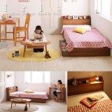 ショート丈小さめサイズ収納ベッド【Iris】アイリス