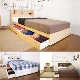 シンプルデザインカントリー調収納ベッド【Claire】クレア