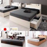 高品質日本製BOX型収納ベッド【Klar】クラール