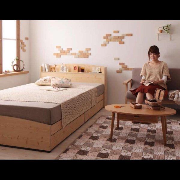 画像3: カントリーデザイン収納ベッド 【Sweet home】スイートホーム