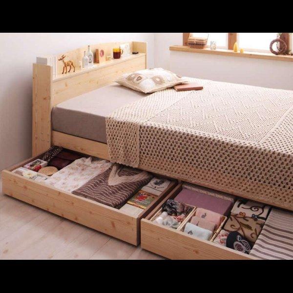 画像4: カントリーデザイン収納ベッド 【Sweet home】スイートホーム