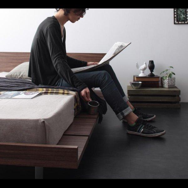 画像2: モダンデザインローベッド【E-go】イーゴ
