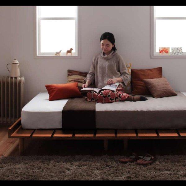 画像2: 大人気!北欧デザインヘッドレスベッド【Kaleva】カレヴァ