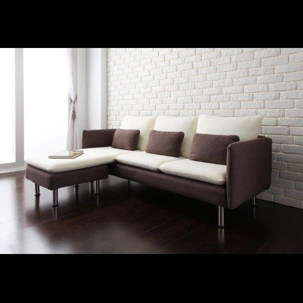 画像5: 超おしゃれなデザインコーナーカウチソファ【Monte】モンテ