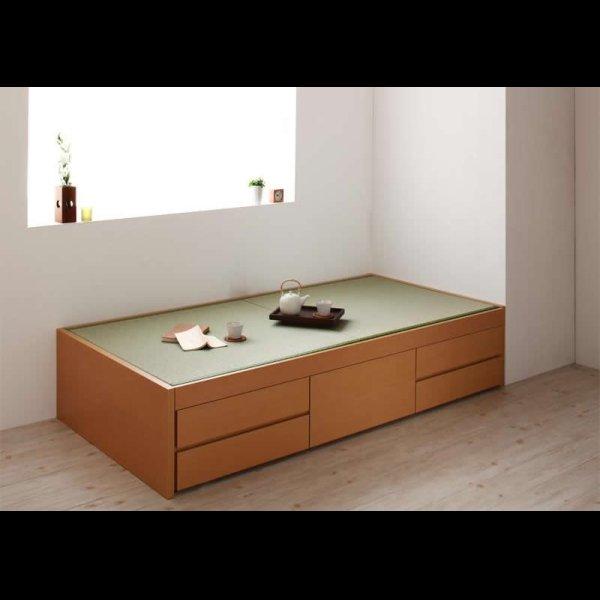 画像3: ヘッドレス仕様チェスト型畳ベッド