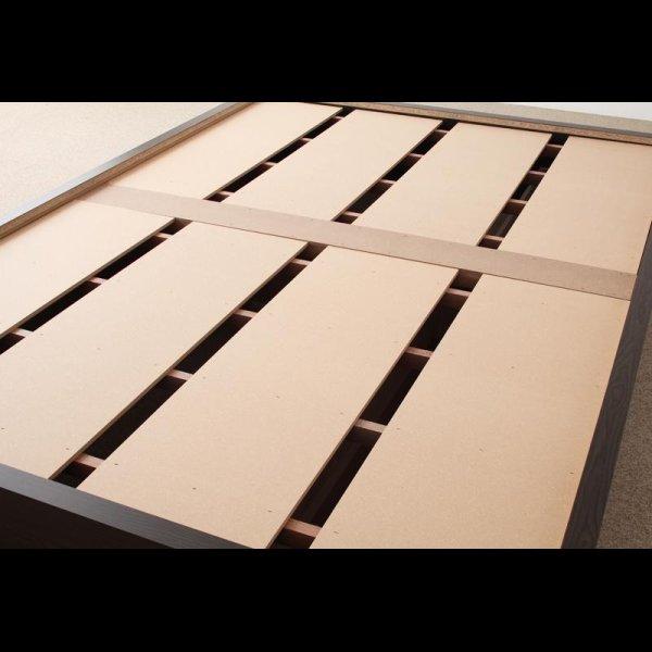画像4: モダンデザインヘッドレス畳収納ベッド
