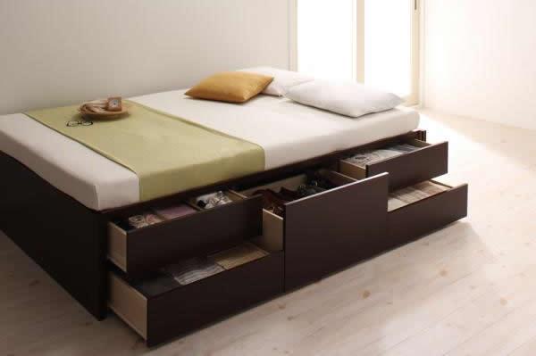 大型収納ベッド:メリット・デメリットイメージ