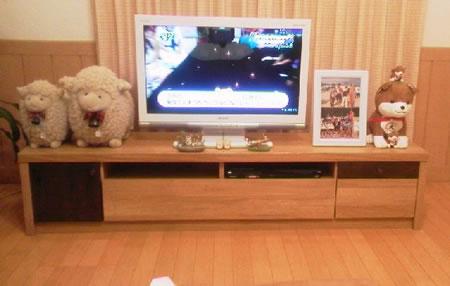 フロアタイプテレビボード【GRANTA】グランタ 感想
