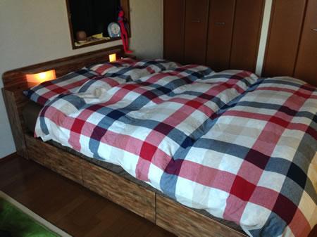 BOXタイプ収納ベッド【IDADE】イダーデ 口コミ