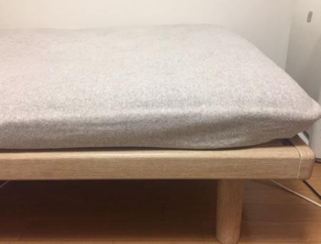 高さ4段階調整可能!布団も使える日本製ヒノキすのこベッド Furara フララ