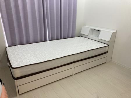 天然木桐材仕様すのこベッド【Aeration】エアレーション