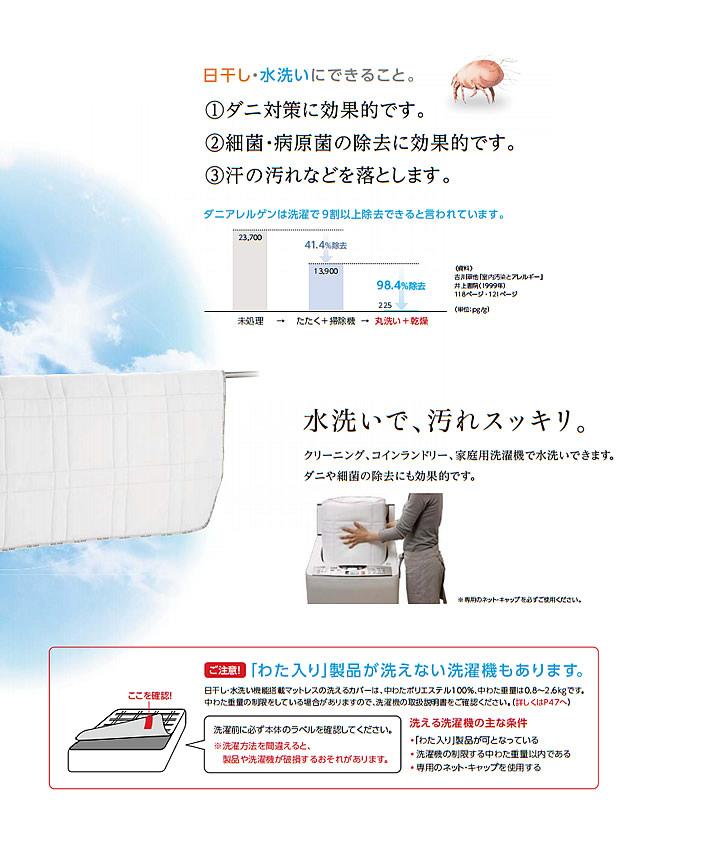 アスリープ【ASLEEP】ファインレボ搭載日本製マットレス JU カバー付・硬さ調整可能・ロングもを通販で激安販売