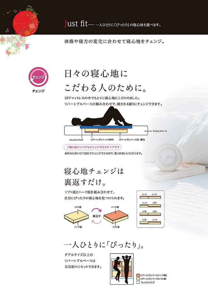 アスリープ【ASLEEP】ファインレボ搭載日本製マットレス JM カバー付・硬さ調整可能・ロングもを通販で激安販売