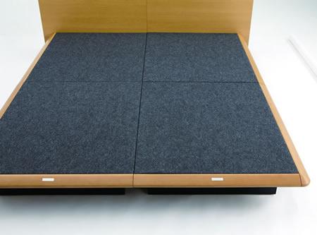 ASLEEP ベッド テーベ トヨタグループのアイシン精機が製造