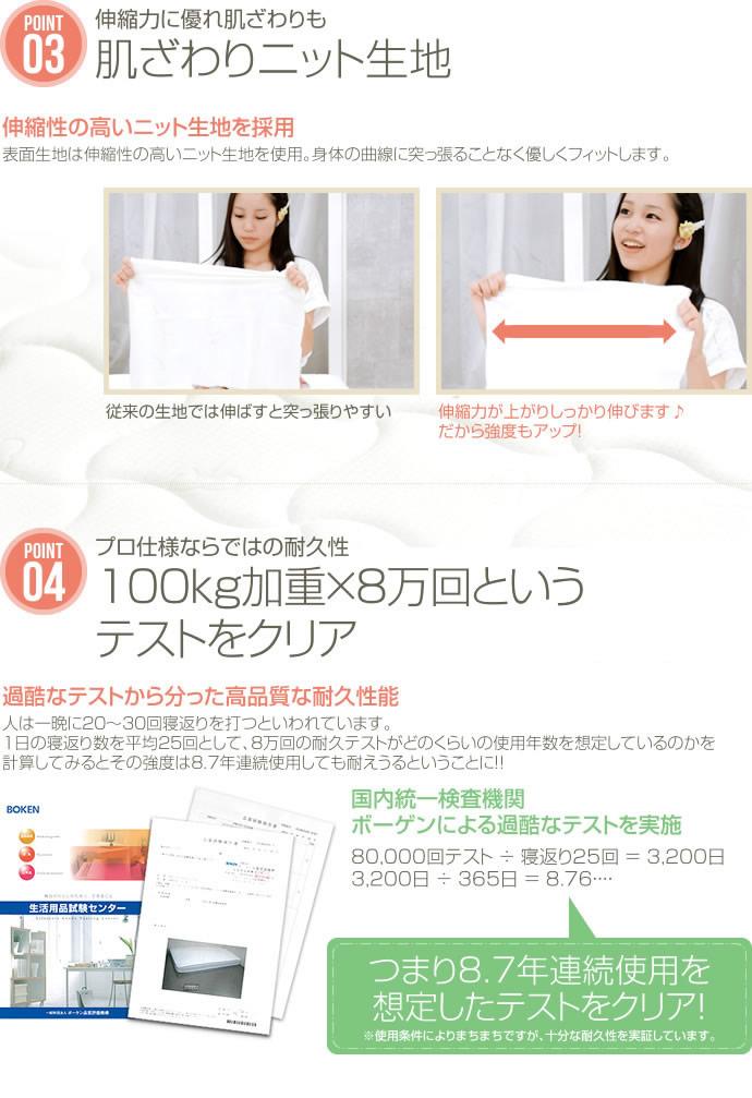 高密度ポケットコイルマットレス:LCMを通販で激安販売