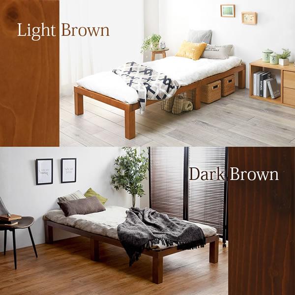敷布団対応!天然木採用頑丈すのこベッド【Percy】を通販で激安販売