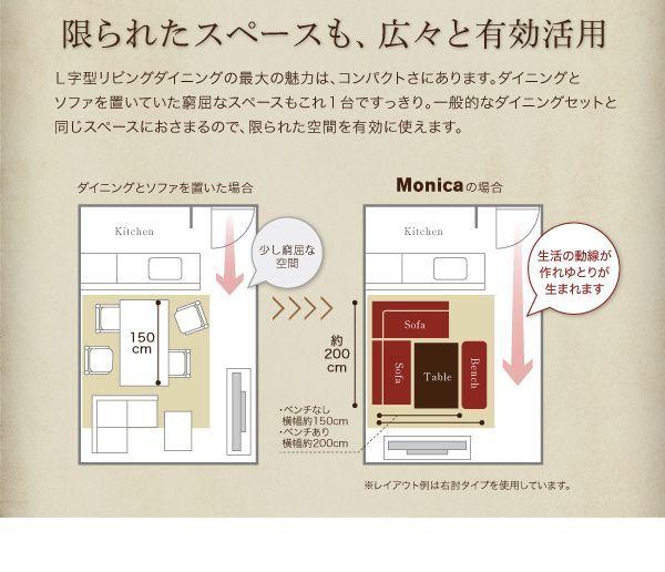 アメリカンヴィンテージ リビングダイニングセット【Monica】モニカを通販で激安販売