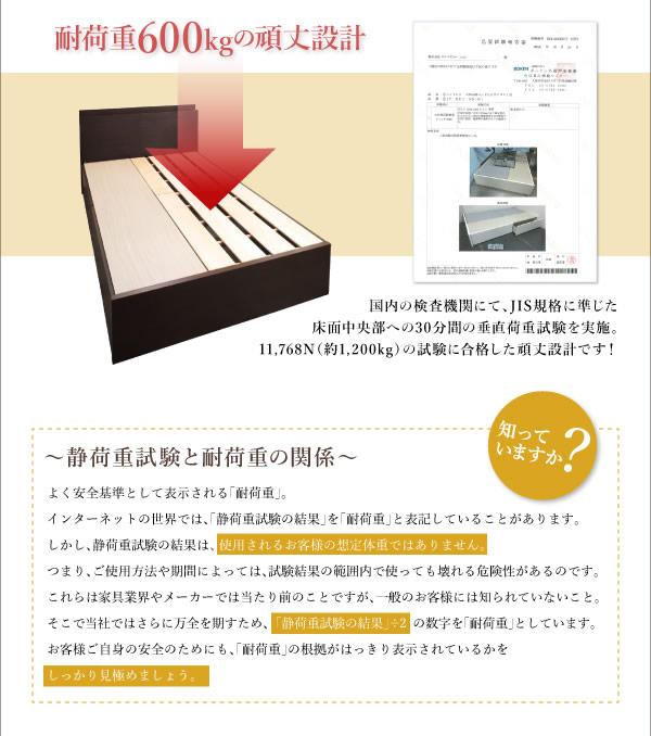 頑丈ベッドシリーズ【Tough】タフ 日本製BOX型収納ベッドを通販で激安販売