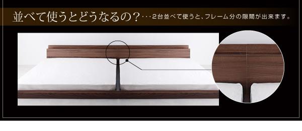隠し収納付き 人気のシンプルデザインフロアベッド【Fragor】フラゴルを通販で激安販売