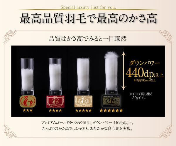 日本製防カビ消臭 プレミアムゴールドラベルボリュームタイプ 羽毛布団8点セット 【Noiva】ノイヴァを通販で激安販売