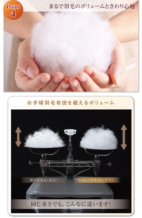 洗える抗菌防臭シンサレート入り布団8点セット プレミアム敷き布団タイプを通販で激安販売