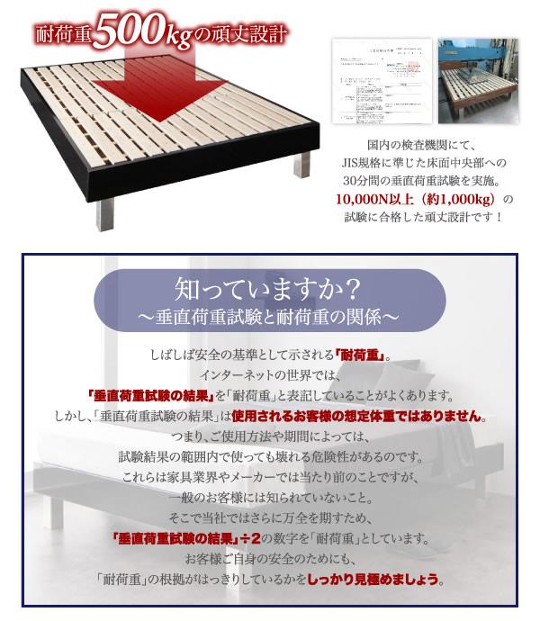 ヘッドレス型頑丈ベッドすのこ仕様【Mordant】モルダンを通販で激安販売