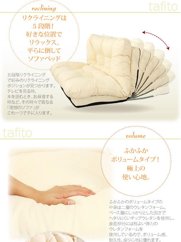 フロアコーナーカウチリクライニングソファ【tafito】タフィト 激安通販