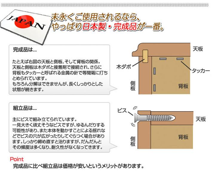 日本製・完成品フレンチカントリー調パイン材仕様キッチン収納シリーズ家具【Flavie】を通販で激安販売